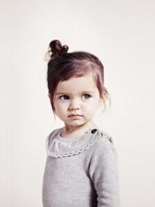 Прически на короткие волосы маленькой девочки леди
