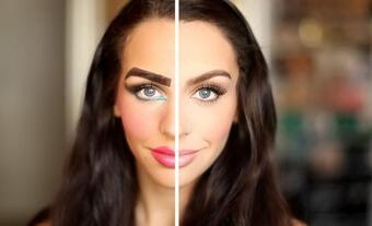 ошибки макияжа