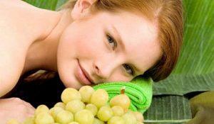 Виноградная маска в борьбе с целлюлитом, фото