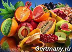 Экзотические фрукты и овощи, фото