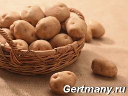 Содержание клетчатки в картофеле, фото