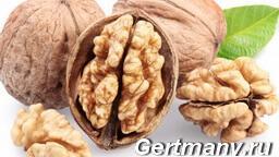 Орехи и сметана - содержание клетчатки, фото