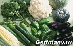 Содержание клетчатки в зеленых овощах, фото