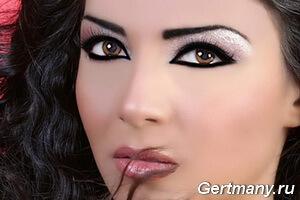 Сексуальный ВОСТОЧНЫЙ макияж глаз, фото
