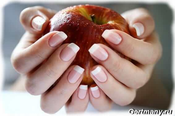 Нездоровые ногти с