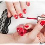 Правило нанесения лака на ногти