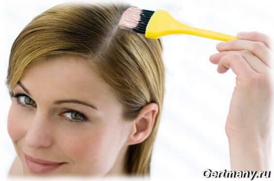 Маски для сухих волос, добавляем в маску желток, порошка хны