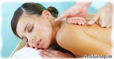 Как делать массаж тела, на участки кожи движения руками надо