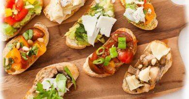 Брускетта приготовления закуски из хлеба по итальянски